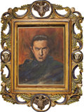 Movie/TV Memorabilia:Original Art, Bela Lugosi Painting by Richard Sheffield. ...