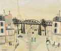 Fine Art - Painting, European:Modern  (1900 1949)  , ARMAND MARIE GUERIN (French, 1913-1983). Scene of Paris. Oil on canvas. 20 x 24 inches (50.8 x 61.0 cm). Signed lower le...