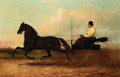 Fine Art - Painting, European:Antique  (Pre 1900), HENRY COLLINS BISPHAM (American, 1841-1882). Chariot, 1875. Oil on canvas. 26-1/2 x 40-1/4 inches (67.3 x 102.2 cm). Sig...