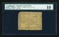 Colonial Notes:Maryland, Maryland August 14, 1776 $1 1/3 PMG Very Good 10....