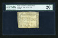 Colonial Notes:North Carolina, North Carolina May 10, 1780 $25 PMG Very Fine 20....