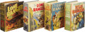 Golden Age (1938-1955):Miscellaneous, Big Little Book Lone Ranger Group (Whitman, 1939-42).... (Total: 4 Items)
