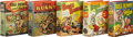 Golden Age (1938-1955):Miscellaneous, Big Little Book Bugs Bunny Group (Whitman, 1944-49).... (Total: 5 Items)