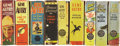 Golden Age (1938-1955):Miscellaneous, Big Little Book Gene Autry Group (Whitman, 1938-49).... (Total: 9 Items)