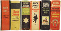 Platinum Age (1897-1937):Miscellaneous, Big Little Book Buck Jones Group (Whitman, 1935-43).... (Total: 6Items)