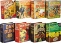 Platinum Age (1897-1937):Miscellaneous, Big Little Book Mandrake/Dan Dunn Group (Whitman, 1934-46)....(Total: 8 Items)
