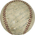 Autographs:Baseballs, 1944 St. Louis Cardinals Teams Signed Baseball....