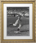 Autographs:Photos, Joe DiMaggio Signed Oversized Limited Edition Photograph....