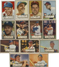 Baseball Cards:Lots, 1952 Topps Baseball Collection (85). ... (Total: 85 cards)