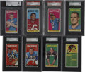 Football Cards:Sets, 1965 Topps Football Partial Set (101/176)....
