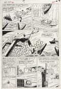 Original Comic Art:Panel Pages, Dick Ayers and Carl Hubbell - Sgt. Fury #21, page 19 Original Art(Marvel, 1965)....