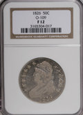 Bust Half Dollars: , 1826 50C F12 NGC. O-109. NGC Census: (6/1469). PCGS Population(4/1161). Mintage: 4,000,000. Numismedia Wsl. Price for NGC...