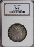 Bust Half Dollars, 1823 50C XF45 NGC. O-108. NGC Census: (55/472). PCGS Population(53/412). Mintage: 1,694,200. Numismedia Wsl. Price for NGC...