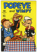 Golden Age (1938-1955):Cartoon Character, Four Color #70 Popeye and Wimpy (Dell, 1943) Condition: FN/VF....