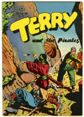 Golden Age (1938-1955):Adventure, Four Color #101 Terry and the Pirates (Dell, 1946) Condition: VF....