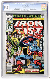 Iron Fist #12 (Marvel, 1977) CGC NM+ 9.6 White pages