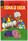 Bronze Age (1970-1979):Cartoon Character, Donald Duck #154 Signed by Carl Barks (Gold Key, 1974) Condition:VF-....