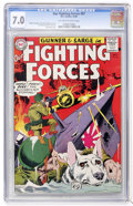 Silver Age (1956-1969):War, Our Fighting Forces #87 (DC, 1964) CGC FN/VF 7.0 Off-white to white pages....