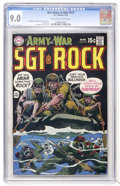 Bronze Age (1970-1979):War, Our Army at War #217 (DC, 1970) CGC VF/NM 9.0 Cream to off-white pages....