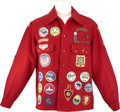 Movie/TV Memorabilia:Costumes, Glenn Ford's Boy Scouts of America Jacket with Patches....