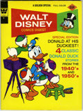 Bronze Age (1970-1979):Cartoon Character, Walt Disney Comics Digest #44 Carl Barks Signed (Gold Key, 1971)Condition: VF/NM....