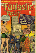 Silver Age (1956-1969):Superhero, Fantastic Four #9 (Marvel, 1962) Condition: VG-....