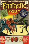 Silver Age (1956-1969):Superhero, Fantastic Four #11 (Marvel, 1963) Condition: VG....