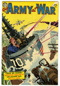 Golden Age (1938-1955):War, Our Army at War #25 (DC, 1954) Condition: FN/VF....