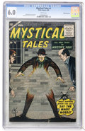 Silver Age (1956-1969):Horror, Mystical Tales #1 White Mountain pedigree (Atlas, 1956) CGC FN 6.0White pages....