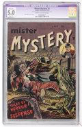 Golden Age (1938-1955):Horror, Mister Mystery #1 (Aragon Magazines, Inc., 1951) CGC Apparent VG/FN 5.0 Slight (A) Cream to off-white pages....