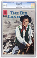 Silver Age (1956-1969):Western, Four Color #812 The Big Land - File Copy (Dell, 1957) CGC NM 9.4 Off-white pages....