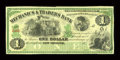 Obsoletes By State:Louisiana, New Orleans, LA- Mechanics & Traders Bank $1 . ...