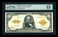 Large Size:Gold Certificates, Fr. 1200a $50 1922 Mule Gold Certificate PMG Choice Fine 15....