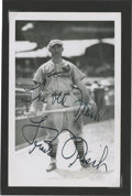 Autographs:Post Cards, Frankie Frisch Signed Postcard....