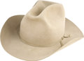 Movie/TV Memorabilia:Costumes, Glenn Ford's Nudie Cowboy Hat....