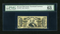 Fractional Currency:Third Issue, Fr. 1328 50c Third Issue Spinner PMG Choice Uncirculated 63....