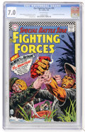 Silver Age (1956-1969):War, Our Fighting Forces #99 (DC, 1966) CGC FN/VF 7.0 Off-white pages....