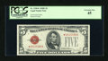 Small Size:Legal Tender Notes, Fr. 1530* $5 1928E Legal Tender Star Note. PCGS Extremely Fine 45.. ...