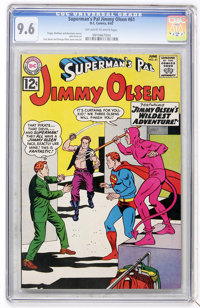 Superman's Pal Jimmy Olsen #61 (DC, 1962) CGC NM+ 9.6 Off-white to white pages