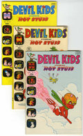 Bronze Age (1970-1979):Cartoon Character, Devil Kids File Copy Group (Harvey, 1971-75) Condition: AverageNM-.... (Total: 6 Comic Books)
