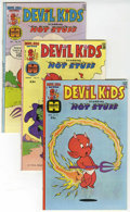 Bronze Age (1970-1979):Cartoon Character, Devil Kids File Copy Group (Harvey, 1976-78) Condition: AverageNM-.... (Total: 13 Comic Books)