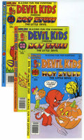 Bronze Age (1970-1979):Cartoon Character, Devil Kids File Copy Group (Harvey, 1978-81) Condition: AverageNM-.... (Total: 14 Comic Books)