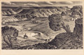 Prints, ALEXANDRE HOGUE (American, 1898-1994). Cap Rock Ranch. Lithograph. 9 x 13-3/4 inches (22.9 x 34.9 cm). Initialed in the ... (Total: 1 Item Items)