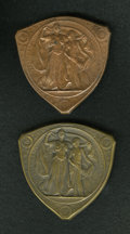 Expositions and Fairs, 1904 St. Louis Universal Expo Gold Medal Trial Strikes/ Restrikesin Bronze.. ... (Total: 2 medals)