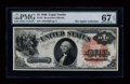 Large Size:Legal Tender Notes, Fr. 31 $1 1880 Legal Tender PMG Superb Gem Unc 67 EPQ....