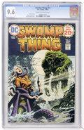 Bronze Age (1970-1979):Horror, Swamp Thing #11 (DC, 1974) CGC NM+ 9.6 Cream to off-white pages....
