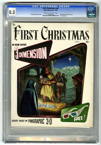 The First Christmas #nn (Fiction House, 1953) CGC VF+ 8.5 Cream to off-white pages