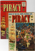 Golden Age (1938-1955):Adventure, Piracy #1 and 6 Group (EC, 1954-55).... (Total: 2 Comic Books)