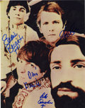 Music Memorabilia:Autographs and Signed Items, The Rascals Band-Signed Photo....