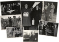 Movie/TV Memorabilia:Photos, Stan Laurel and Oliver Hardy Lot of 46 Original Candid Photos....